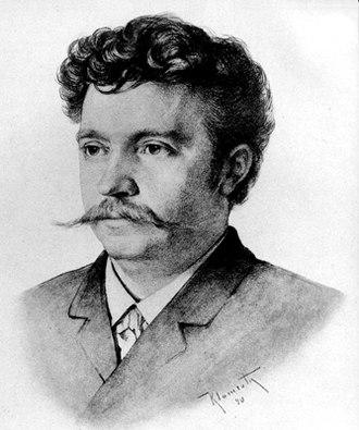 Grünsfeld - Fritz Steinbach in 1890