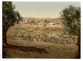 From the Mount of Olives, general view, Jerusalem, Holy Land-LCCN2002725017.tif