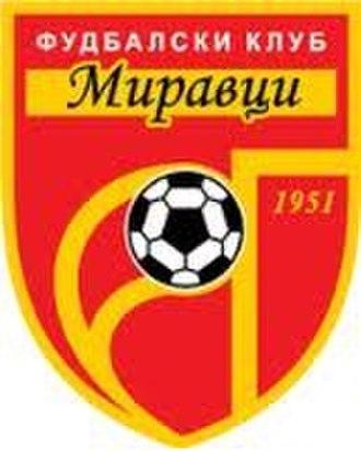 FK Miravci - Image: Fudbalski Klub Miravci amblem
