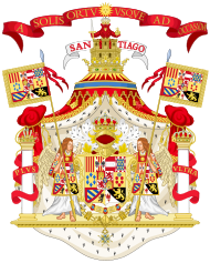 Full Ornamented Royal Coat of Arms of Spain (1761-1868 and 1874-1931).svg