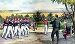 Fusilamiento de J.M. Carrera y el Coronel Alvarez