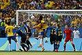 Futebol feminino olímpico- Brasil e Suécia no Maracanã (29033096285).jpg