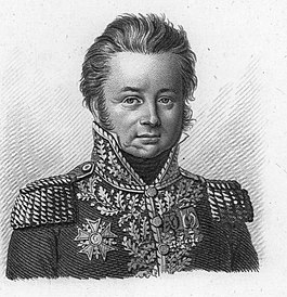 Charles Antoine Morand general of the French army during the French Revolutionary Wars and Napoleonic Wars