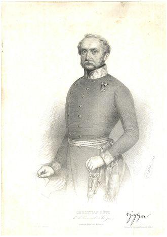 First Battle of Vác (1849) - Götz, Christian (1783–1849)