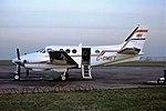 G-OMET Beech King Air air commuter CVT 02-01-80 (38338431316).jpg