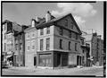 GENERAL VIEW, FROM SOUTHWEST - John Hall House, 327 South Third Street, Philadelphia, Philadelphia County, PA HABS PA,51-PHILA,638-1.tif