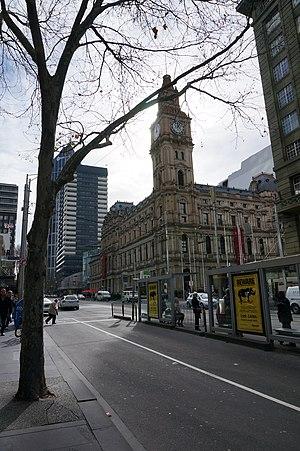 Elizabeth Street, Melbourne - Image: GPO, Melbourne, Australia