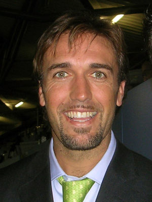 ACF Fiorentina - Gabriel Batistuta, the most prominent Fiorentina player of the 1990s