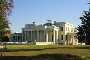Marengo County, Alabama - Gaineswood (built 1843–61), a National Historic Landmark in Demopolis.