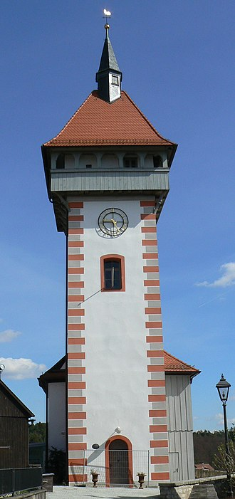 Hollfeld - Image: Gangolfsturm Hollfeld 01