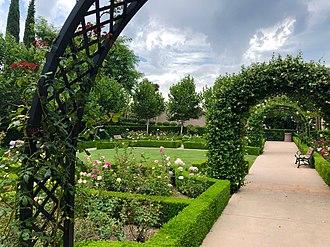 Gardens of the World - The English Rose Garden.