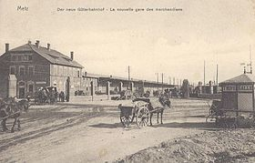 image illustrative de l'article Gare de Metz-Marchandises