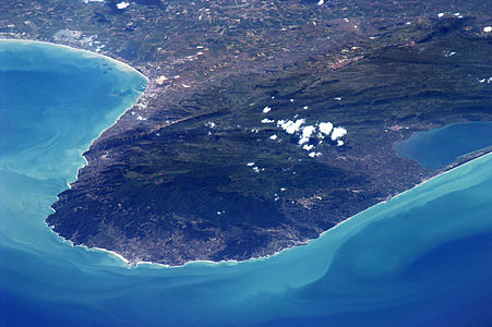 Gargano's photograpy made on 10-05-2011 by Paolo Nespoli on International Space Station