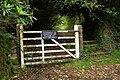 Gate south of Carn Lodge - geograph.org.uk - 943091.jpg