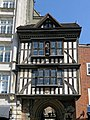 Gatehouse to St Bartholomew-the-Great, West Smithfield, City of London, England.jpg