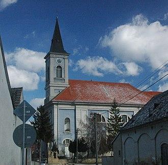 Gbely - Archangel Michael church in Gbely