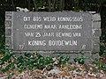Gedenksteen in arduin, Boslaan, Knokke.jpg