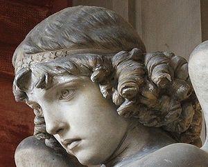 Giulio Monteverde - Monteverde Angel, detail