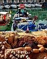 Genova - Metrò Darsena fishing boats - panoramio.jpg