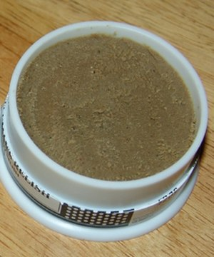 Anchovy paste - An open pot of Gentleman's Relish anchovy paste