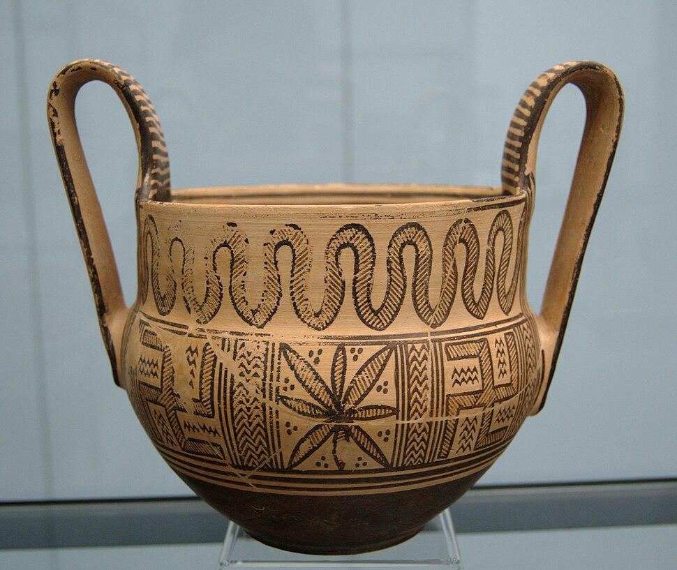 Geometric kantharos Staatliche Antikensammlungen 8501