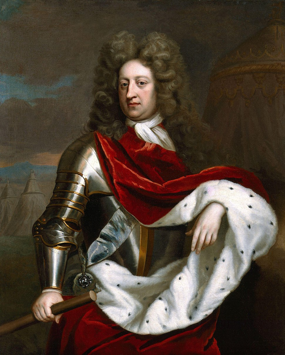 George, Prince of Denmark by Michael Dahl