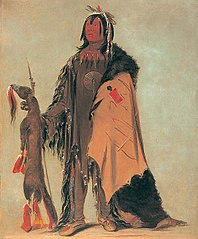 In-ne-ó-cose, Buffalo's Child, a Warrior