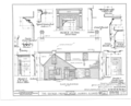 George French House, State Route 130, Albion, Edwards County, IL HABS ILL,24-ALBI,1- (sheet 4 of 5).png