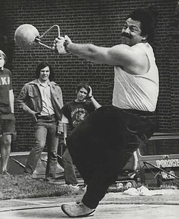 George Frenn American hammer thrower and weight thrower