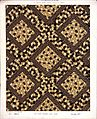 George Harrison and Co (Bradford) -Linoleum, 2 yards wide - best quality only. (Diagonal geometric mosaic pattern). No. 139-2. Pattern shown half size. (1880s?) (21019951043).jpg