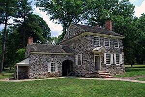 English: The headquarters of George Washington...