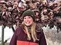Geraldine op de Lofoten.jpg