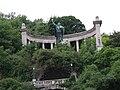 Gerard Sagredo monument, Gellért Hill, 2009-05-23 BudapestDSCN3908.jpg