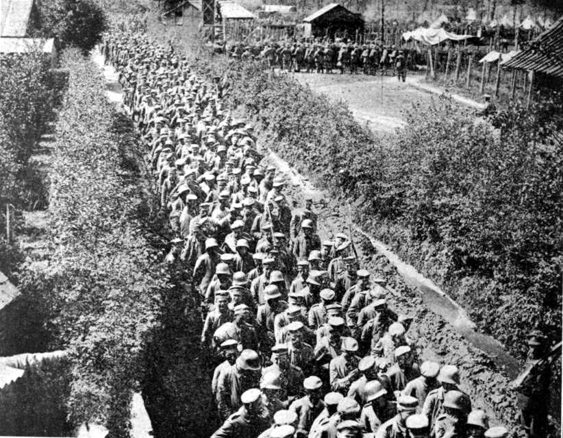 German POWs captured in Flanders by Brits2