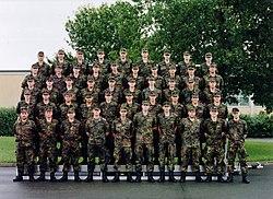Platoon of the German Bundeswehr.