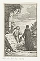 Gesprek tussen John Wilmot en Petrus Ramus de Graaf van Rochester en Petr. Ramus (titel op object), RP-P-2016-1204.jpg