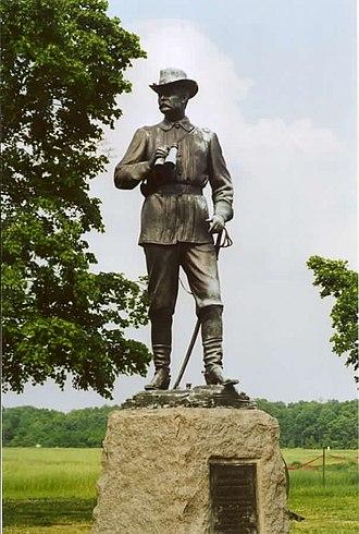 James E. Kelly (artist) - General John Buford Memorial (1895), Gettysburg Battlefield.