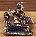 Giappone, periodo edo, netsuke (fermaglio per inroo), xix secolo, 074 divinità a cavallo.jpg