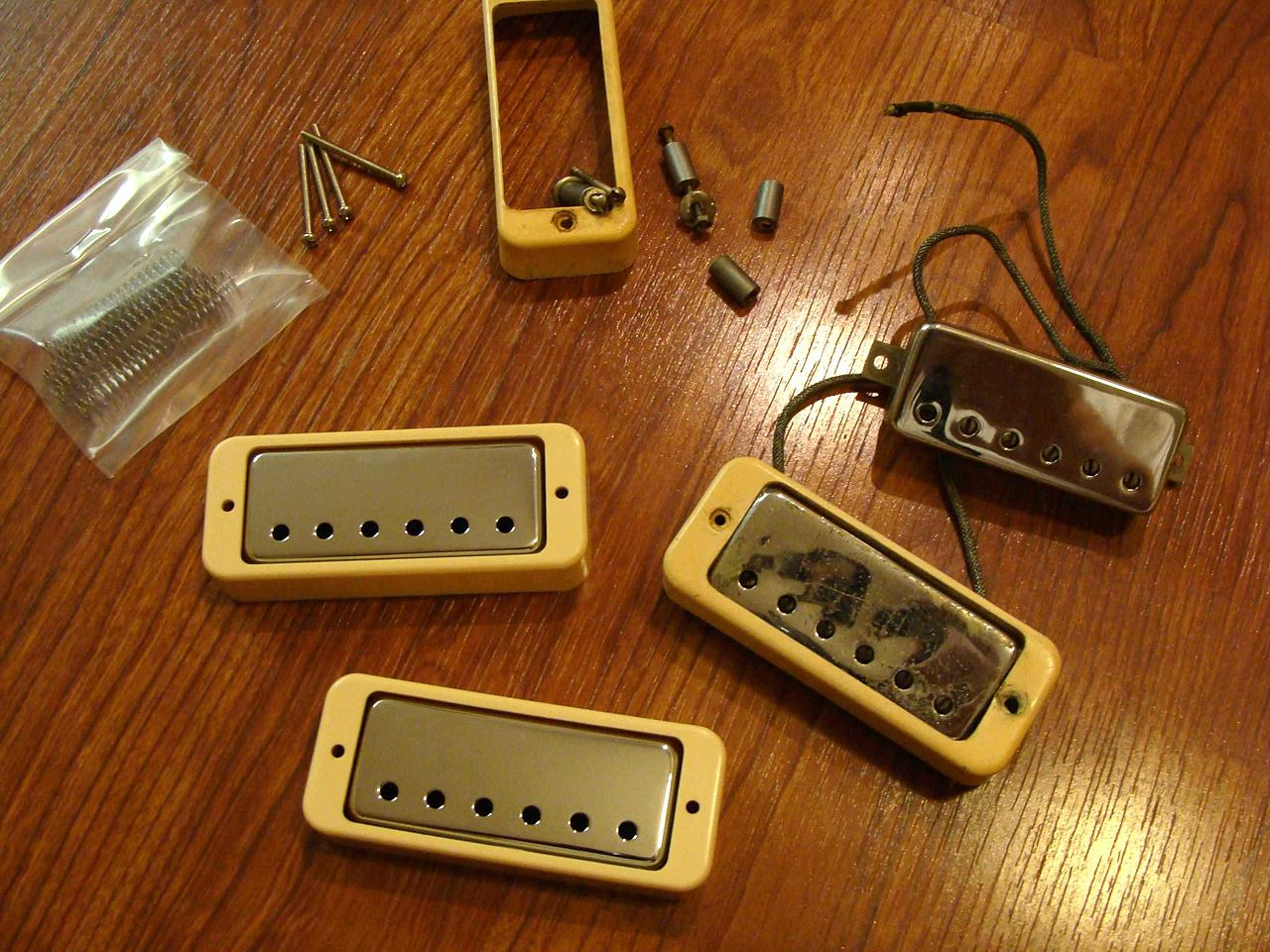 How To Mount Pickups In A Guitar Without Pickup Rings