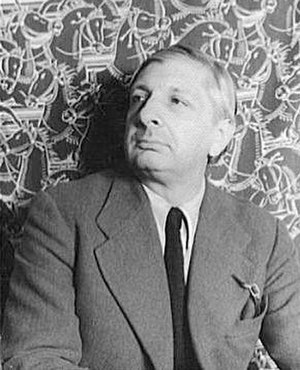 Giorgio de Chirico - In 1936, photographed by Carl Van Vechten