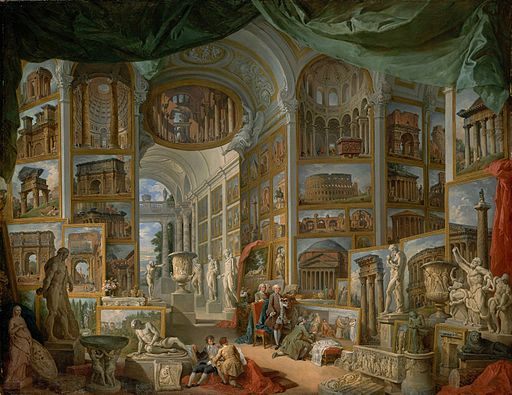 Giovanni Paolo Panini (Italian, Piacenza 1691–1765 Rome) - Ancient Rome - Google Art Project