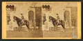 Girl on horseback in front of house, from Robert N. Dennis collection of stereoscopic views 3.png