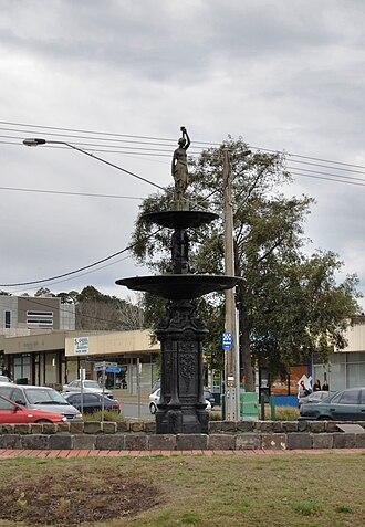 Gisborne, Victoria - Image: Gisborne Fountain