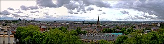 Dowanhill - Image: Glasgow West End Panorama