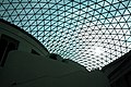 Glass and steel roof of the Great Court, British Museum, London - panoramio (9).jpg