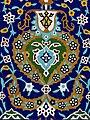 Glazed Tilework - Entrance to Shaykh Safi Mausoleum - Ardabil - Iranian Azerbaijan - Iran (7420680132).jpg