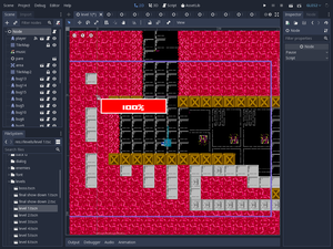 A screenshot of the editor in Godot 3.1