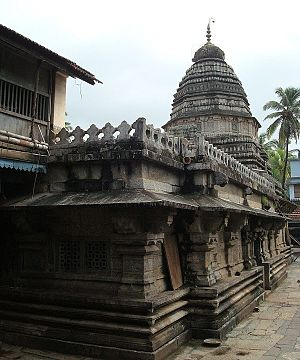 Gokarna, Karnataka - Mahabaleshwara Temple, the main temple of the town