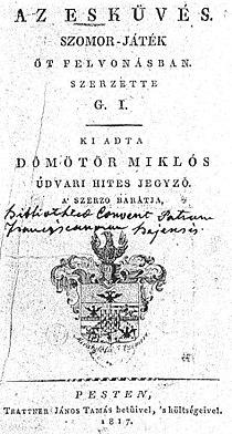 Gombos Imre - Az esküvés címlap2.jpg