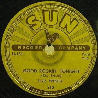 Good Rocking Tonight - Image: Good Rockin Tonight Elvis Presley